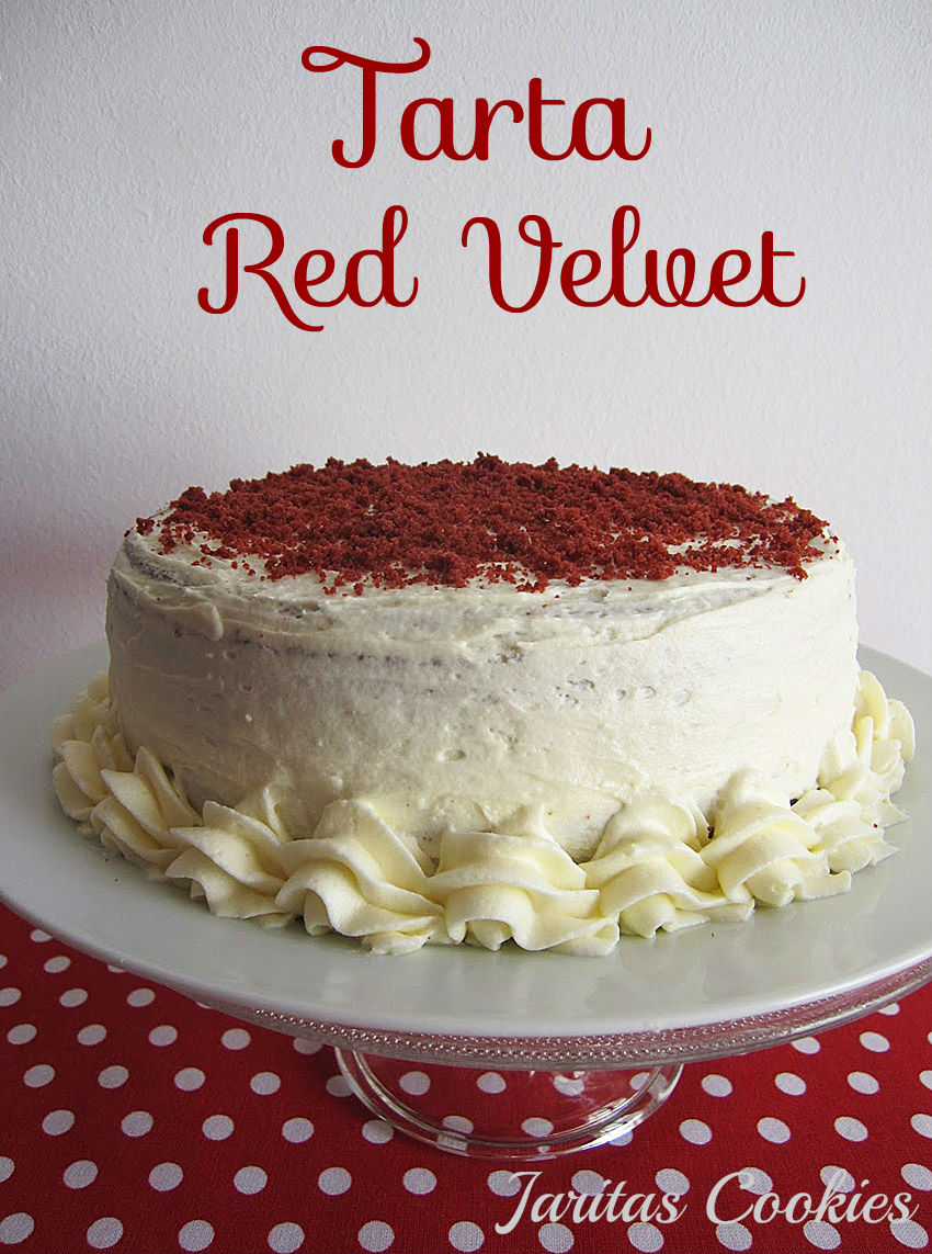 Jarita 39 s cookies tarta red velvet - Tarta red velvet alma obregon ...