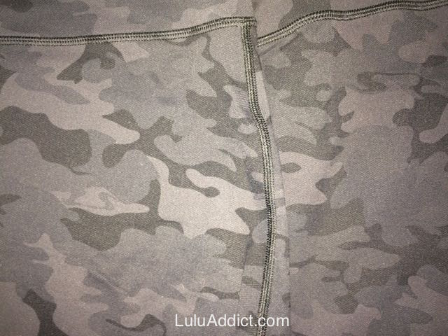 lululemon black camo high times pant