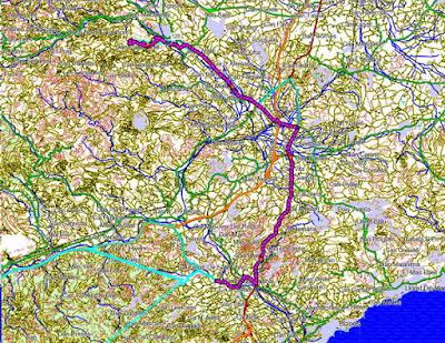 Pulsa sobre el mapa para ver la ruta.
