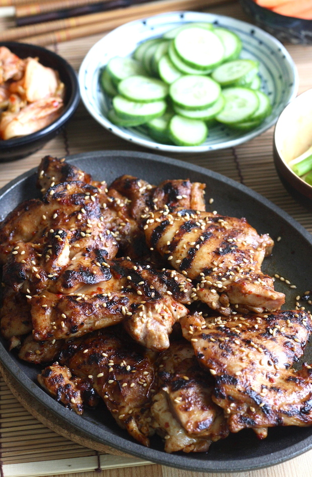 Korean bbq chicken lettuce wraps season with spice korean bbq chicken recipe by seasonwithspice forumfinder Image collections
