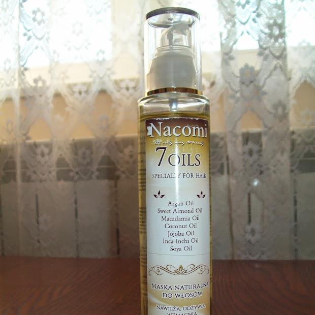 Maska naturalna do włosów Nacomi