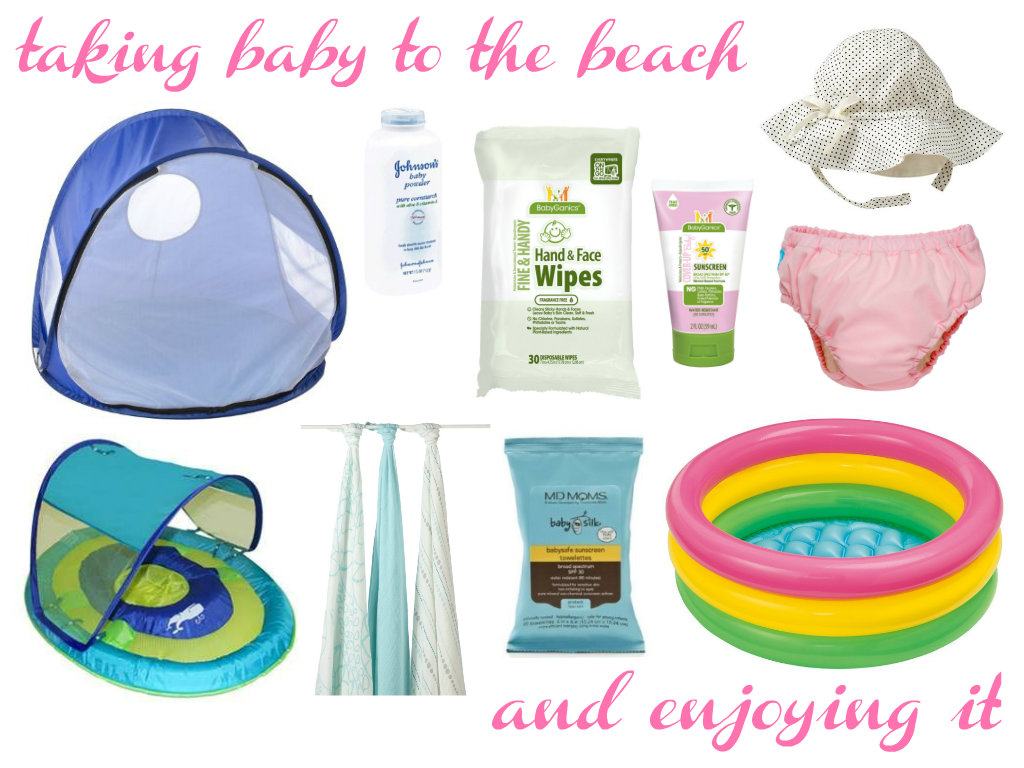 sun tent. swim float. baby powder. Adenu0026Anais blankets. hand u0026 face wipes. sunscreen wipes. sunscreen. sun hat. swim diaper. baby pool.  sc 1 st  Little and Lovely & Little and Lovely: Taking baby to the beach and enjoying it