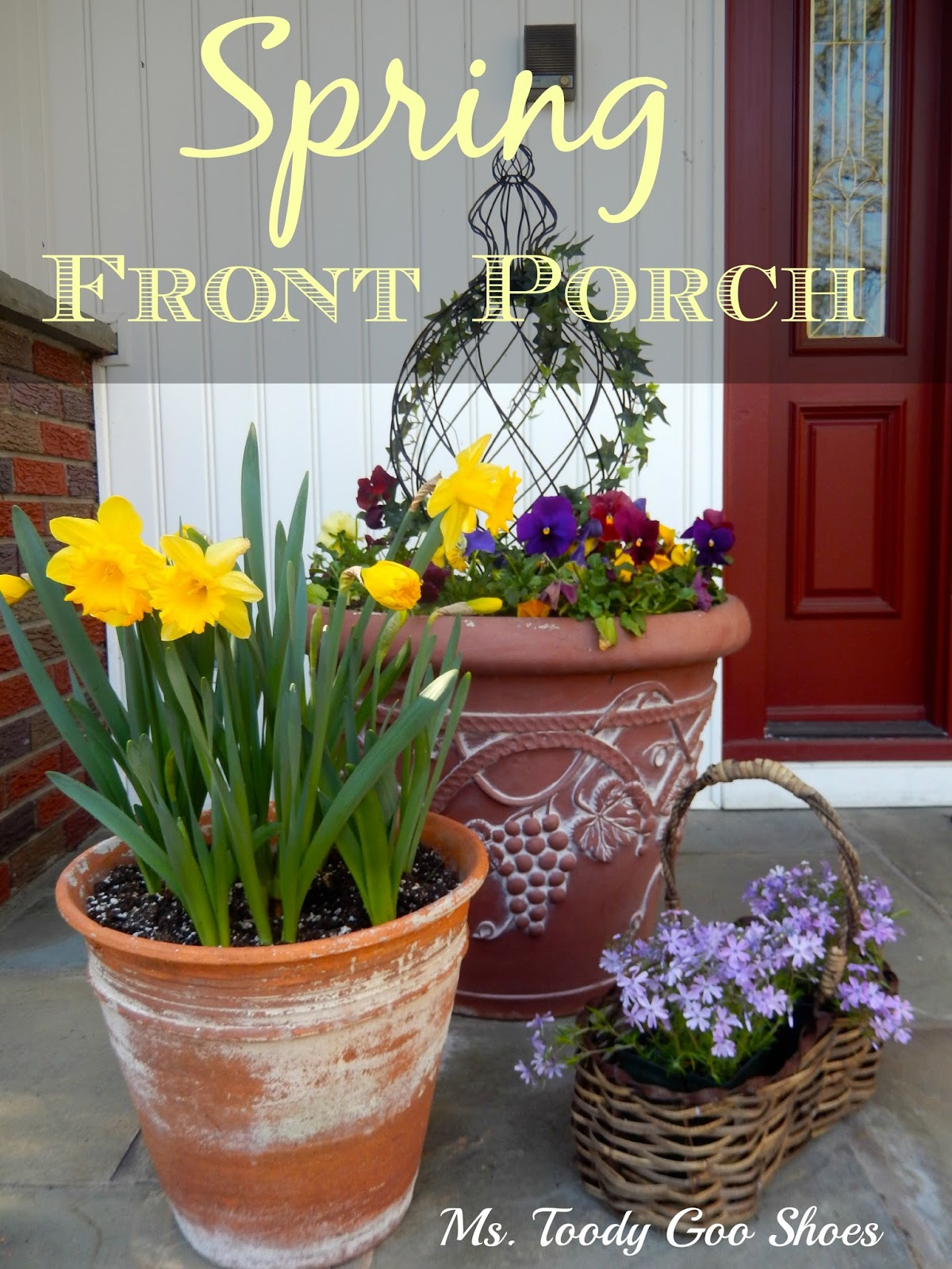 Spring on the Front Porch --- Ms. Toody Goo Shoes