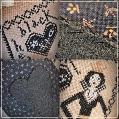 Примитивная вышивка крестом