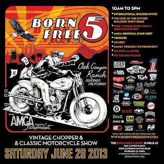 Proud Sponsor of Born Free 5