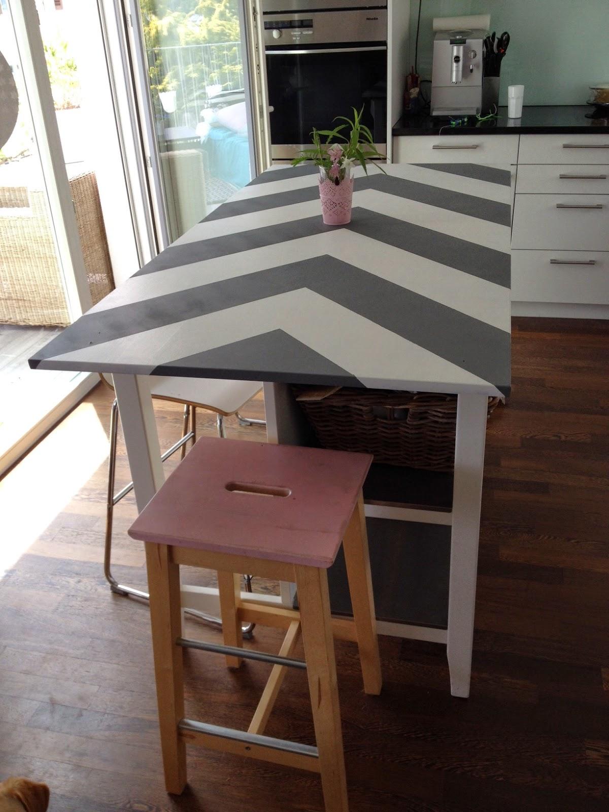 Ikea Hack Kücheninselweberin - nachhaltig und kreativ