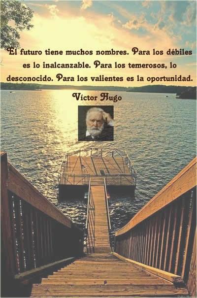 El futuro según Víctor Hugo