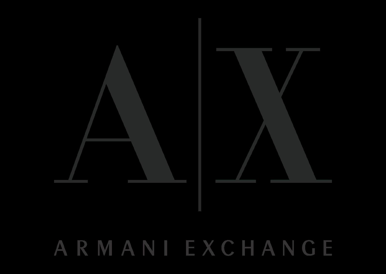 Armani exchange Logo Vector download free