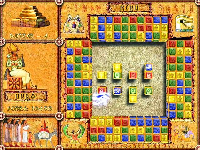 Download Game Brickshooter Egypt