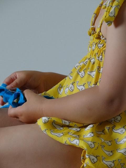 Baby sunsuit