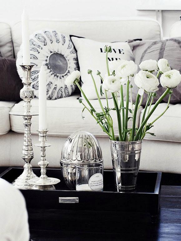Decoreren met dienbladen my simply special - Foto decoratie ...