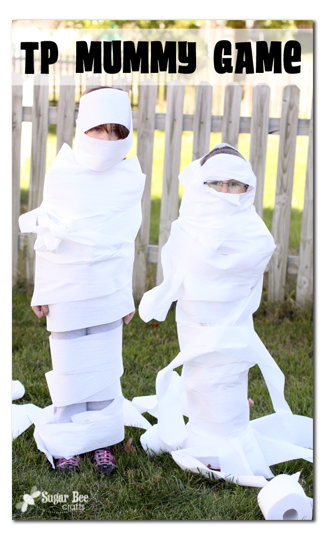 Toilet Paper Mummy Game Sugar Bee Crafts