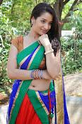 Santoshi sharma half saree pics-thumbnail-17