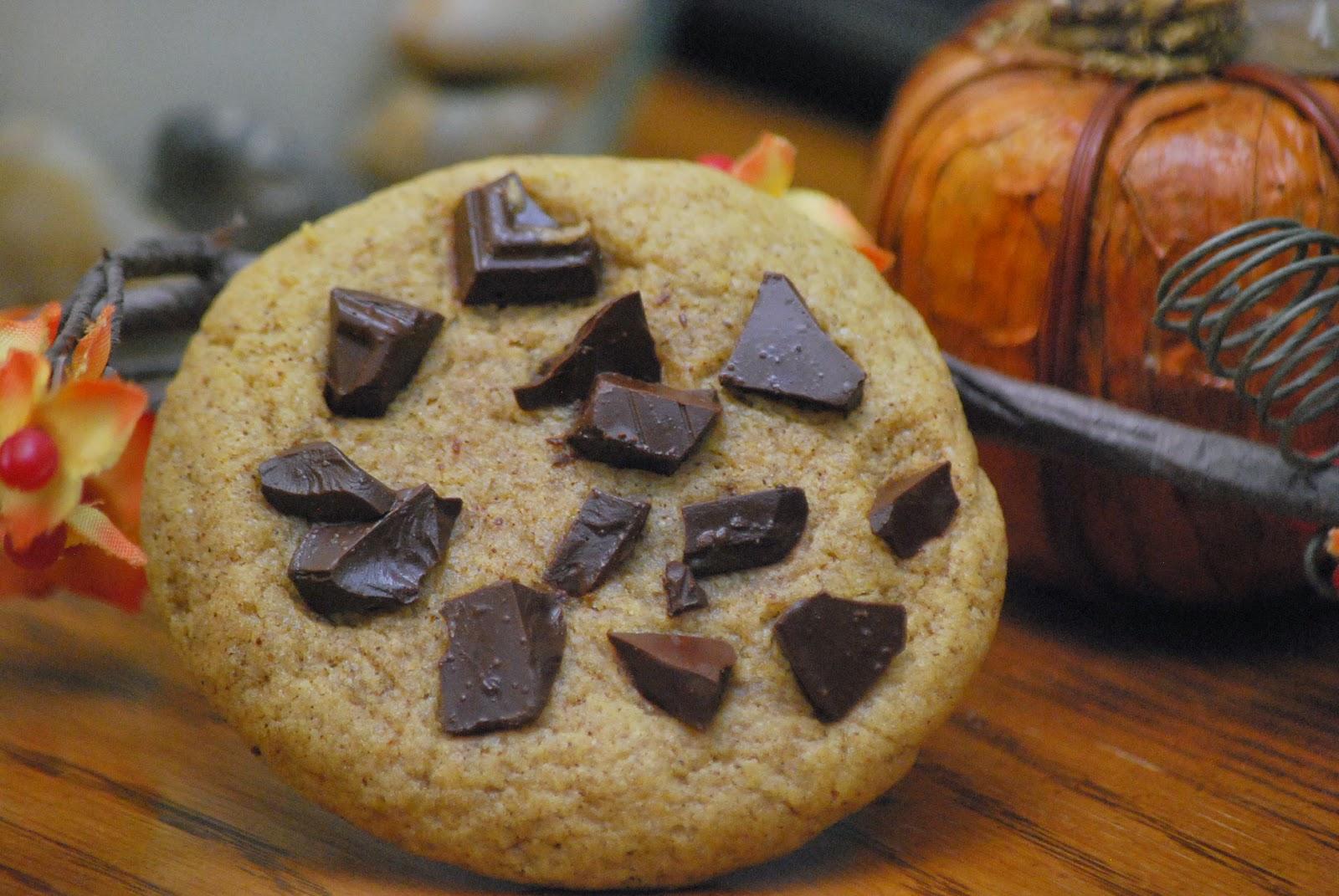 My story in recipes: Dark Chocolate Pumpkin Cookies