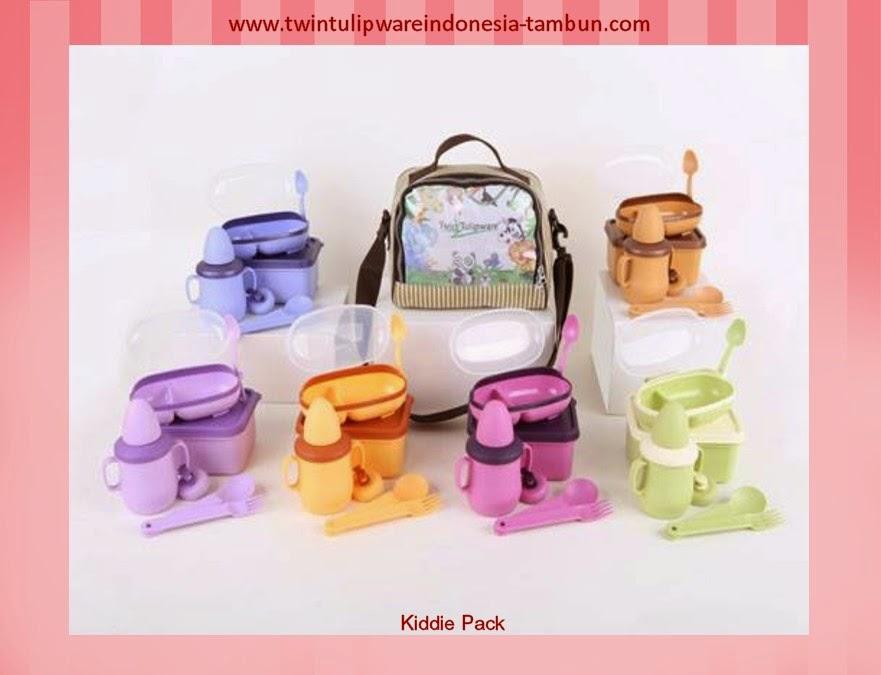 kiddie pack | produk baru tulipware 2013
