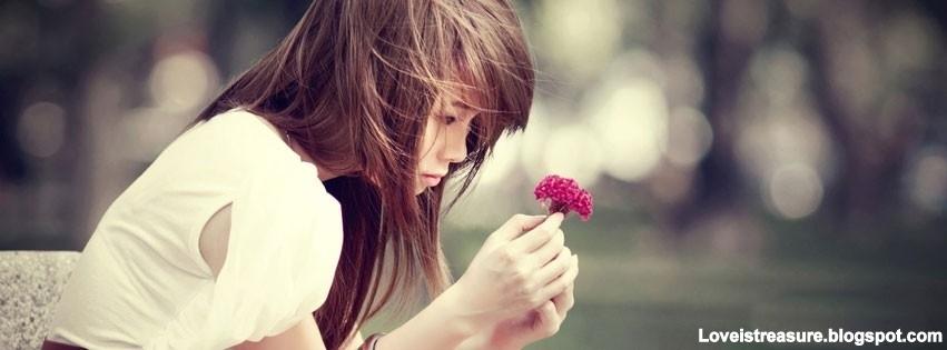 facebook covers | Alone sad girl facebook - Love ...
