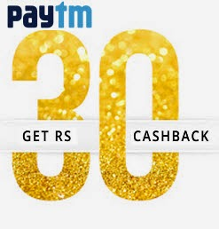 Mobile Recharge & Bill Payment Rs. 30 cashback on Rs. 30 || Paytm