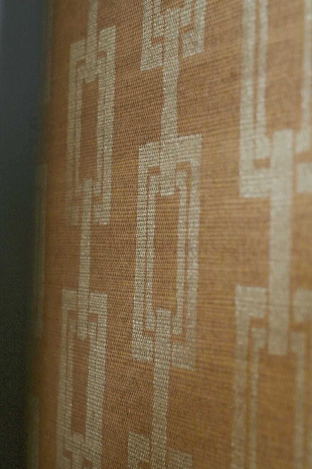 Design Dump Diy Stenciled Grasscloth Wallpaper