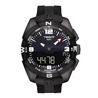 Tissot T-Touch Expert Solar Watch black rubber