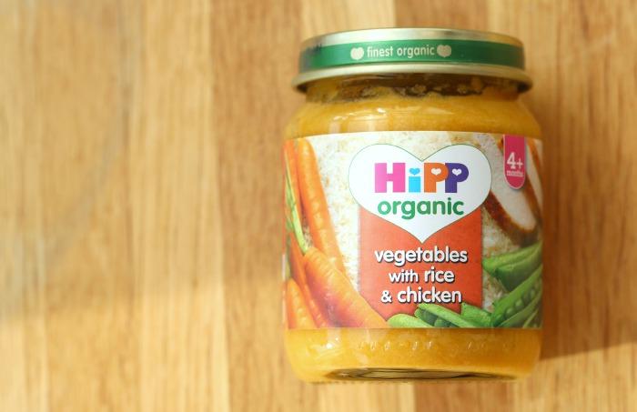 HiPP Organic food jar