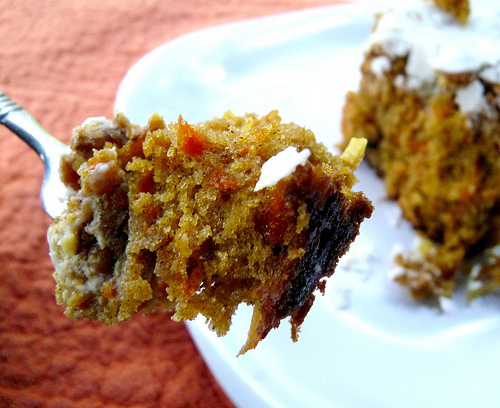 Carrot Cake Made With Coconut Milk