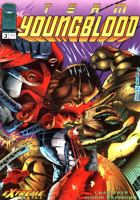 Portada Team Youngblood Nº 3 Edicones World Comics-Image