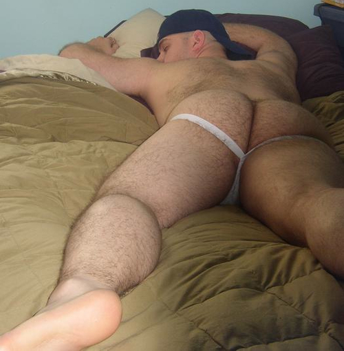 men sleeping Hot naked