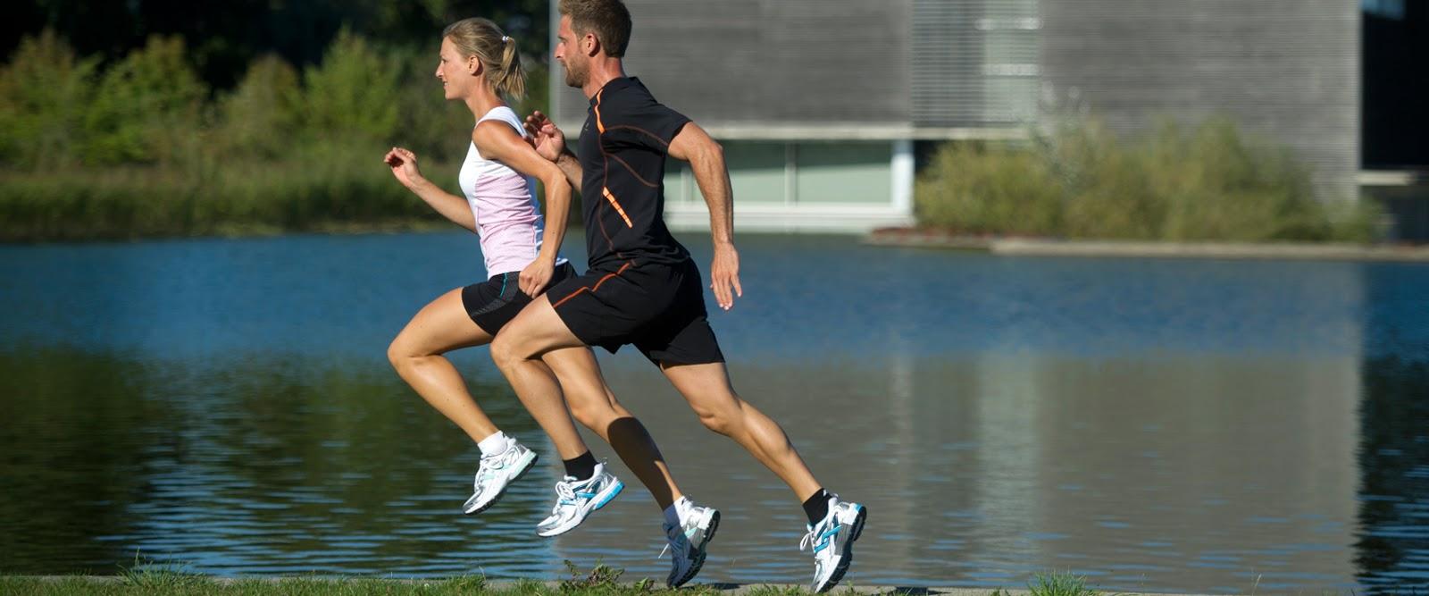 La postura correcta del cuerpo en la carrera