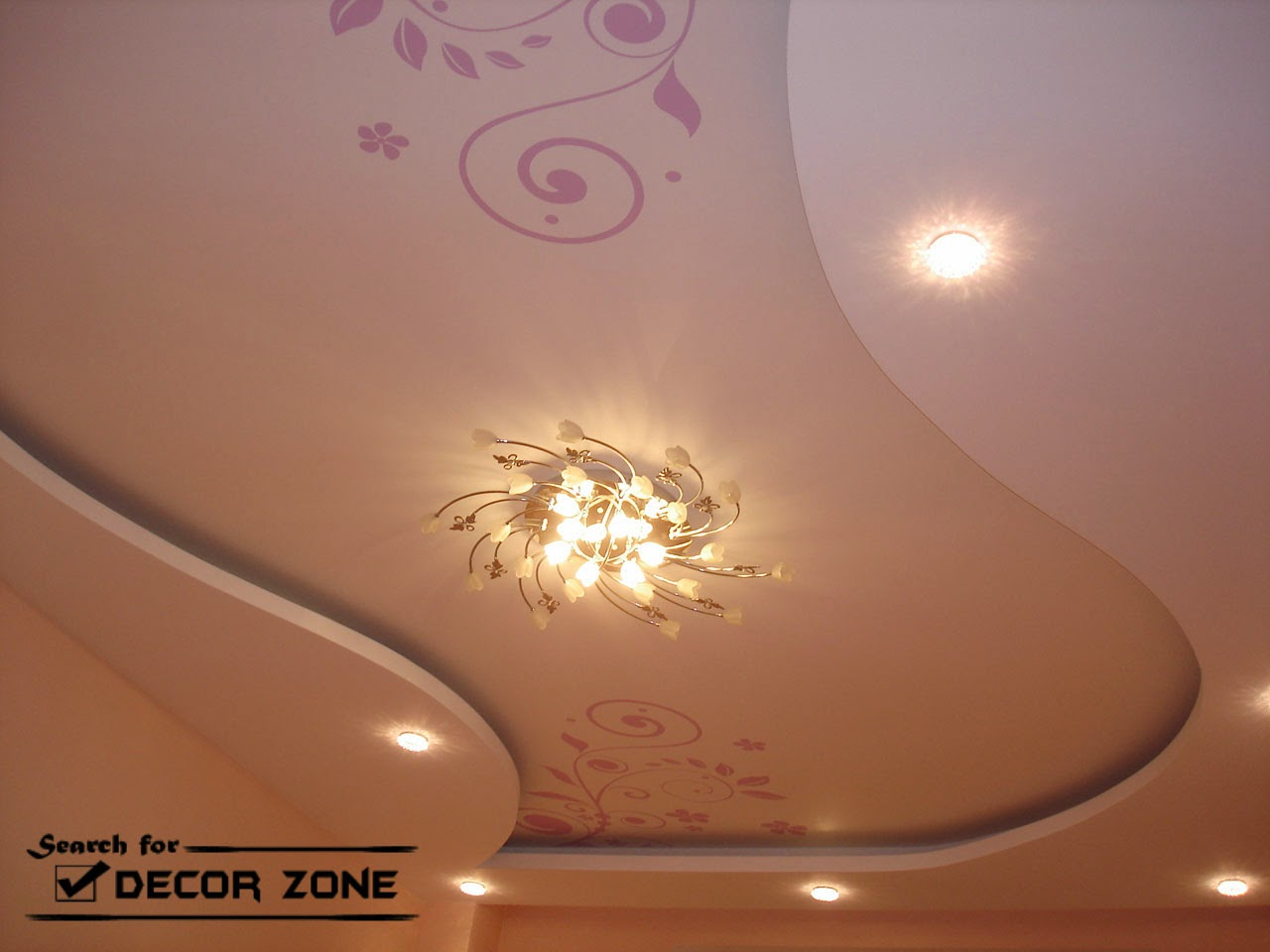 ceiling systems of plasterboard : designs, ideas and installation tips title=