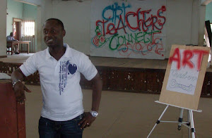 "Yemi Olomosua @ d ART TEACHERS CONNECT with ""positive mental attitude"""