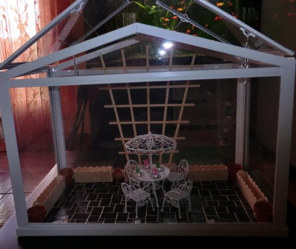 Miniaturas yolanda casa con su invernadero - Invernadero para casa ...