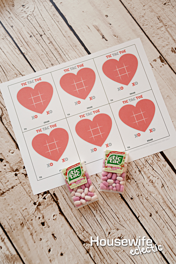 image regarding Tic Tac Toe Valentine Printable named Tic Tac Toe XOXO Valentine with No cost Printable - Housewife
