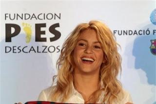 Shakira no se pierde ningún partido de Gerard Piqué