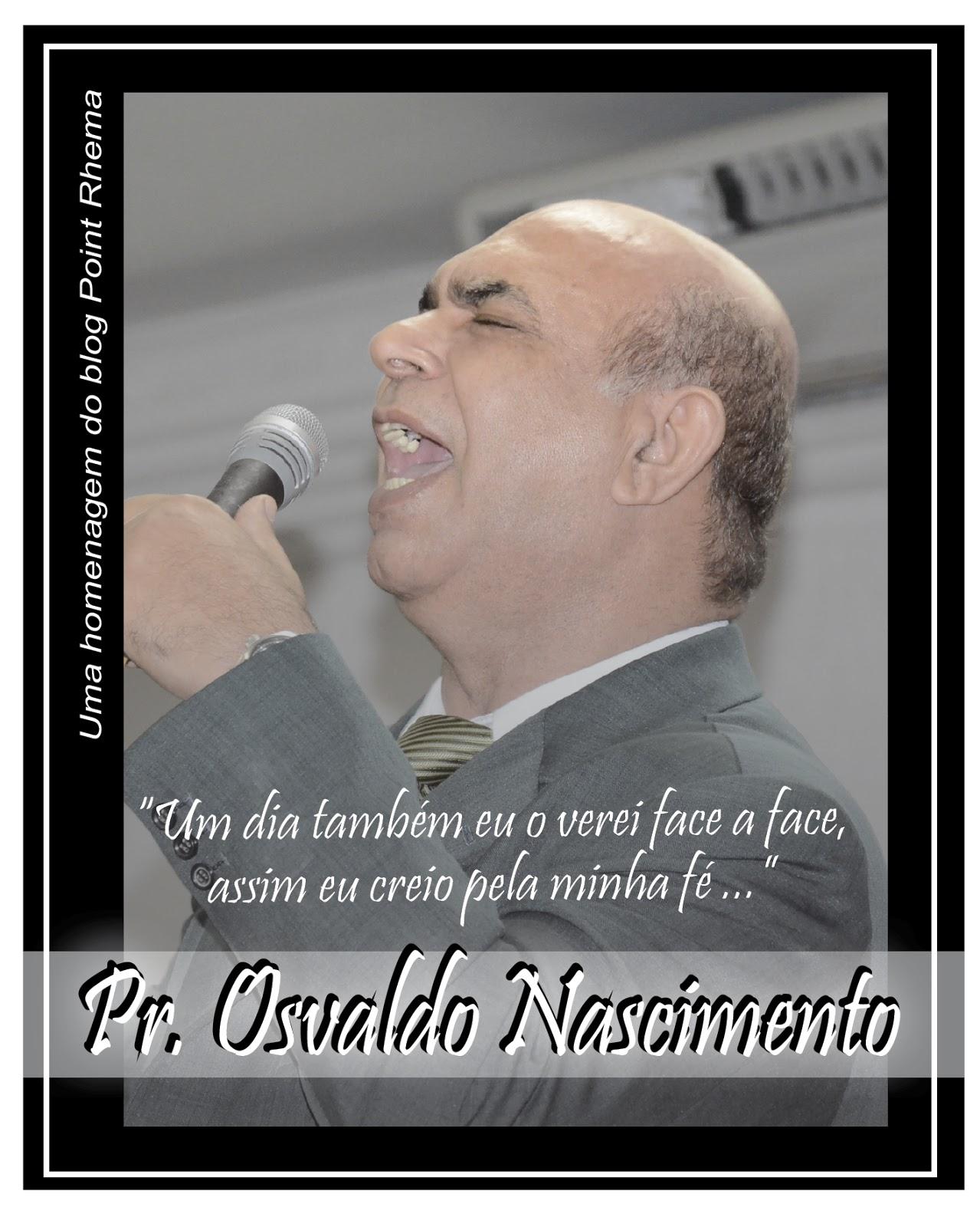 CANTOR OSVALDO NASCIMENTO PROMOVIDO ÀS MANSÕES CELESTIAIS