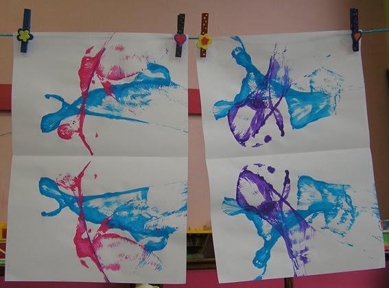 La Classe De Sof Techniques De Peinture En Maternelle