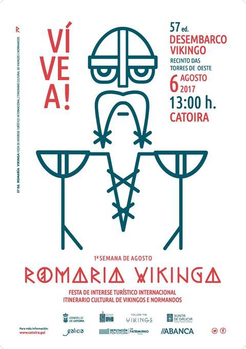 ROMARÍA VIKINGA DE CATOIRA 2017 - 57 EDICIÓN