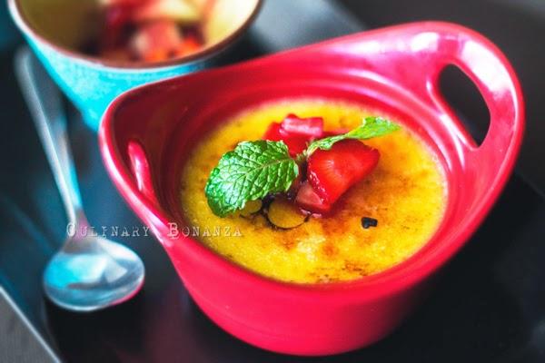 Lemon Crème Brulee - Culinary Bonanza
