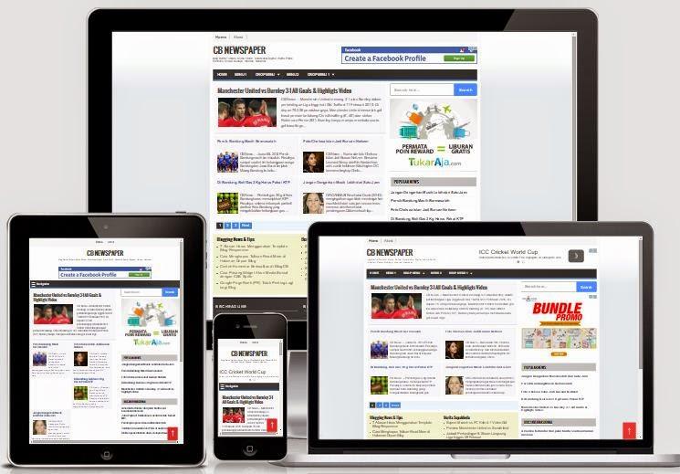 cb-newspaper blogger template
