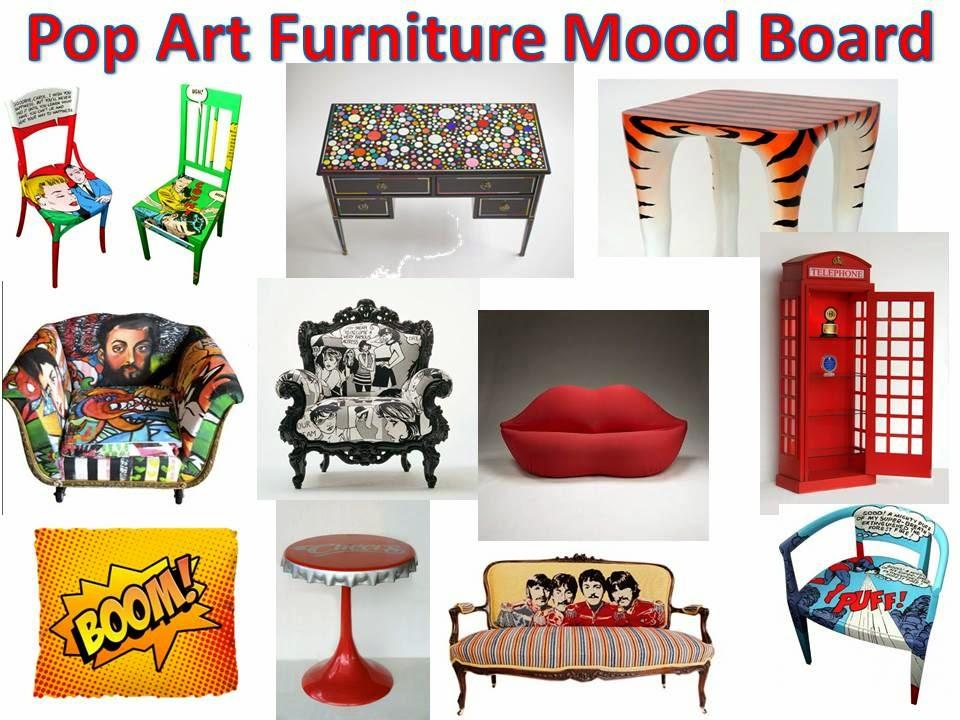 Pop Art Mood Boards