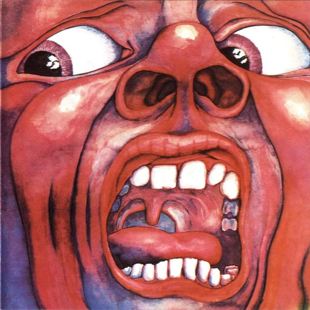 É impressão minha, ou tem uma galera aqui apaixonada pelas antigas capas de Vinil ? King+Crimson+-+In+The+Court+of+the+Crimson+King