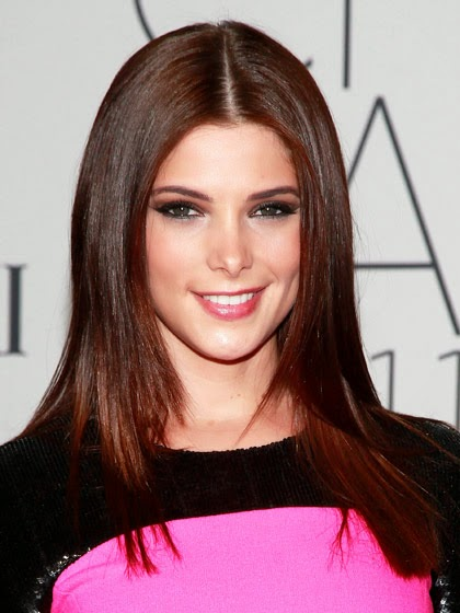 Ashley Greene rosewood red
