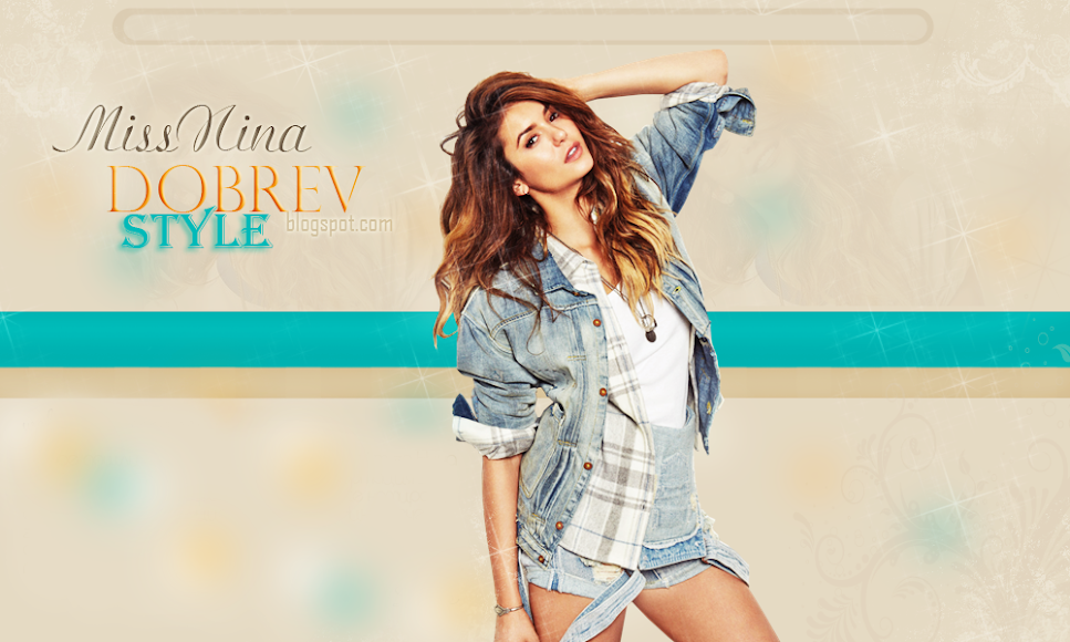 MissNinaDobrev-Style || Your best site about Nina Dobrev's Site