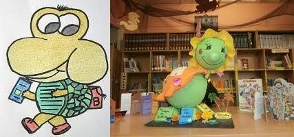 A mascota da nosa Biblioteca