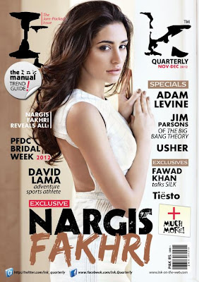 Nargis Fakhri Ink Magazine