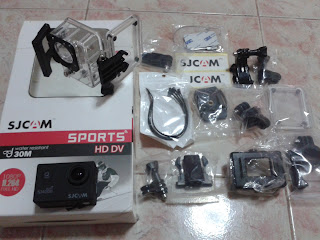 SJ4000 Wifi Action Camera and Accessories