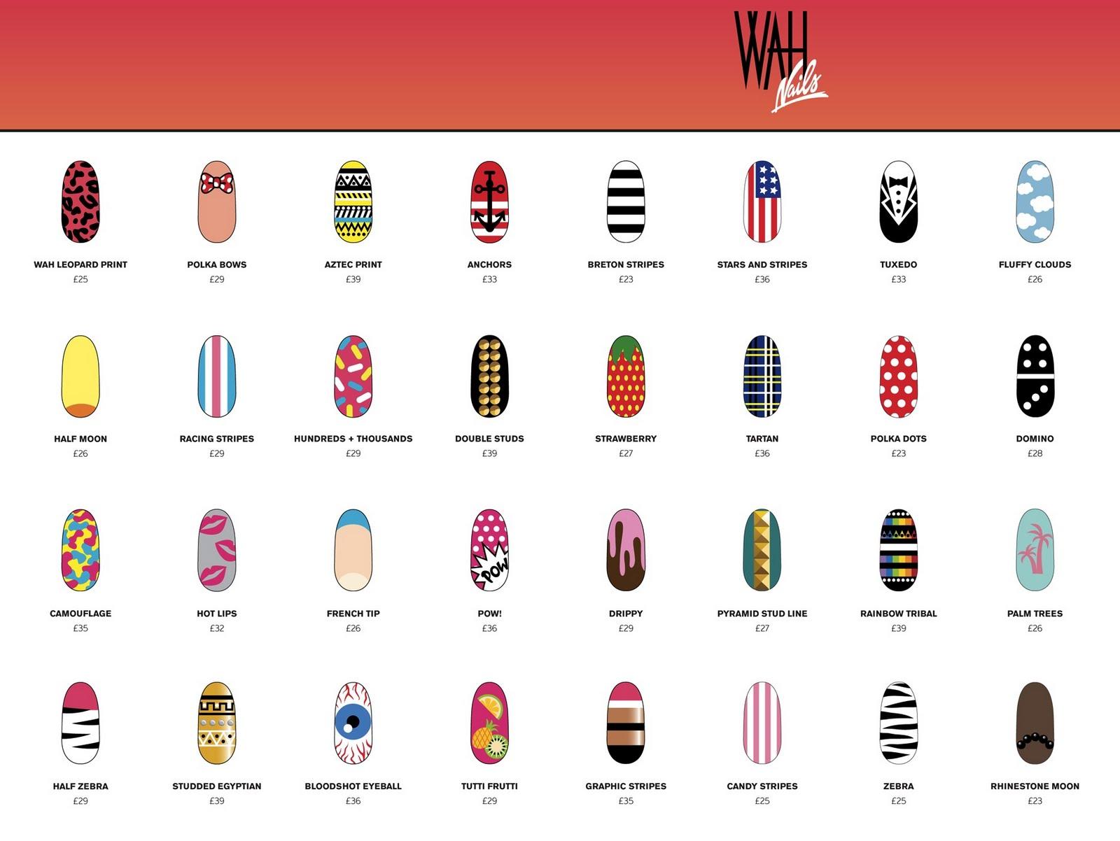 Charmant Wah Nägel London Fotos - Nagellack-Design-Ideen ...
