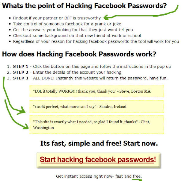 Facebook Hack Instructions -