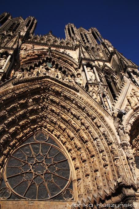 Reims, Katedra, Monika Kuszyńska, fotografia