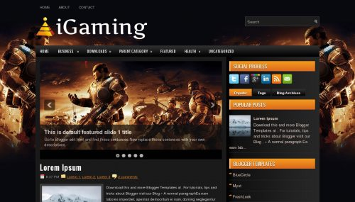 igaming-template