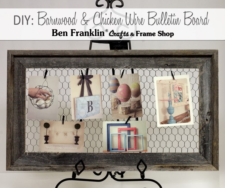 Ben Franklin Crafts and Frame Shop, Monroe, WA: DIY Barnwood Frame ...